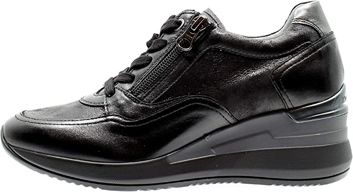 Sneaker donna nero giardini 013170 nero B08HRWP7G9