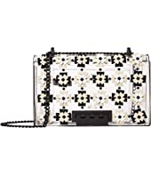 ZAC Zac Posen - Earthette Chain Shoulder Floral Applique - Glass
