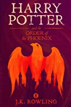 Cover image of Harry Potter and the Order of the Phoenix by J.K. Rowling