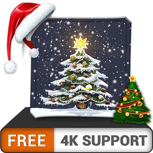 árvore de Natal de beleza grátis HD - decore seu quarto com belas paisagens na sua TV HDR 4K, TV 8K e dispositivos de fogo como papel de parede, decoração para as férias de Natal, tema para mediação e