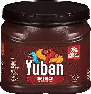 Yuban Bold Dark Roast Ground Coffee (25.3 oz Canister)