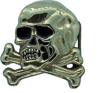 Yone Fibbia per Cinture Welder Skull Belt Buckle Welding Helmet Tool Box
