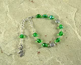 Cernunnos Prayer Bead Bracelet: Gaulish Celtic God of Nature and Wild Beasts