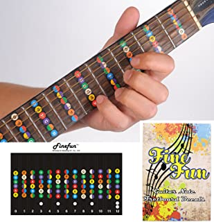6 string guitar fingerboard chart