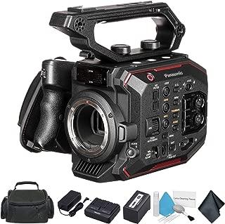 Panasonic AU-EVA1 Compact 5.7K Super 35mm Handheld Cinema Camera Body AU-EVA1PJ - Bundle