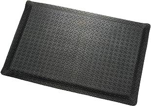 "product image for Apache Mills Diamond Plate Ergonomic Mat, 24""X36"", Black"
