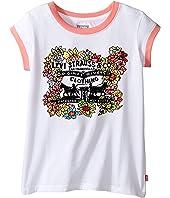 Levi's® Kids - Ringer Tee Short Sleeve Knit Top (Big Kids)