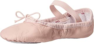 Bloch Dance Girl's Bunnyhop Full Sole Leather Ballet Slipper/Shoe, Pink, 9.5 W US Toddler
