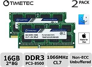 Timetec Hynix IC 16GB KIT(2x8GB) Compatible for Apple...