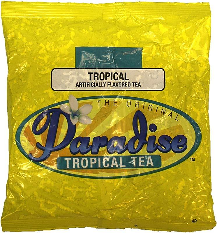 Paradise Tropical Tea The Original 3 Oz Loose Leaf Tea 25 Count Tropical