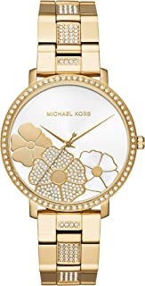 Michael Kors Women's Jaryn Pavé Gold-Tone Watch MK3864