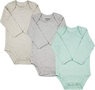 123 Bear Baby 3-Pack Soft Cotton Spandex bodysuits