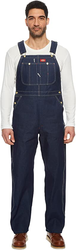Rigid Denim Bib Overalls