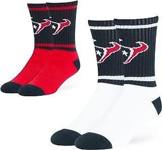 NFL Men's OTS Dasher Sport Sock 2-Pack