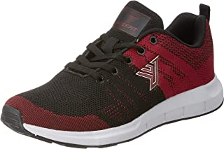 Fusefit Men's Vento Red and Black Running Shoes