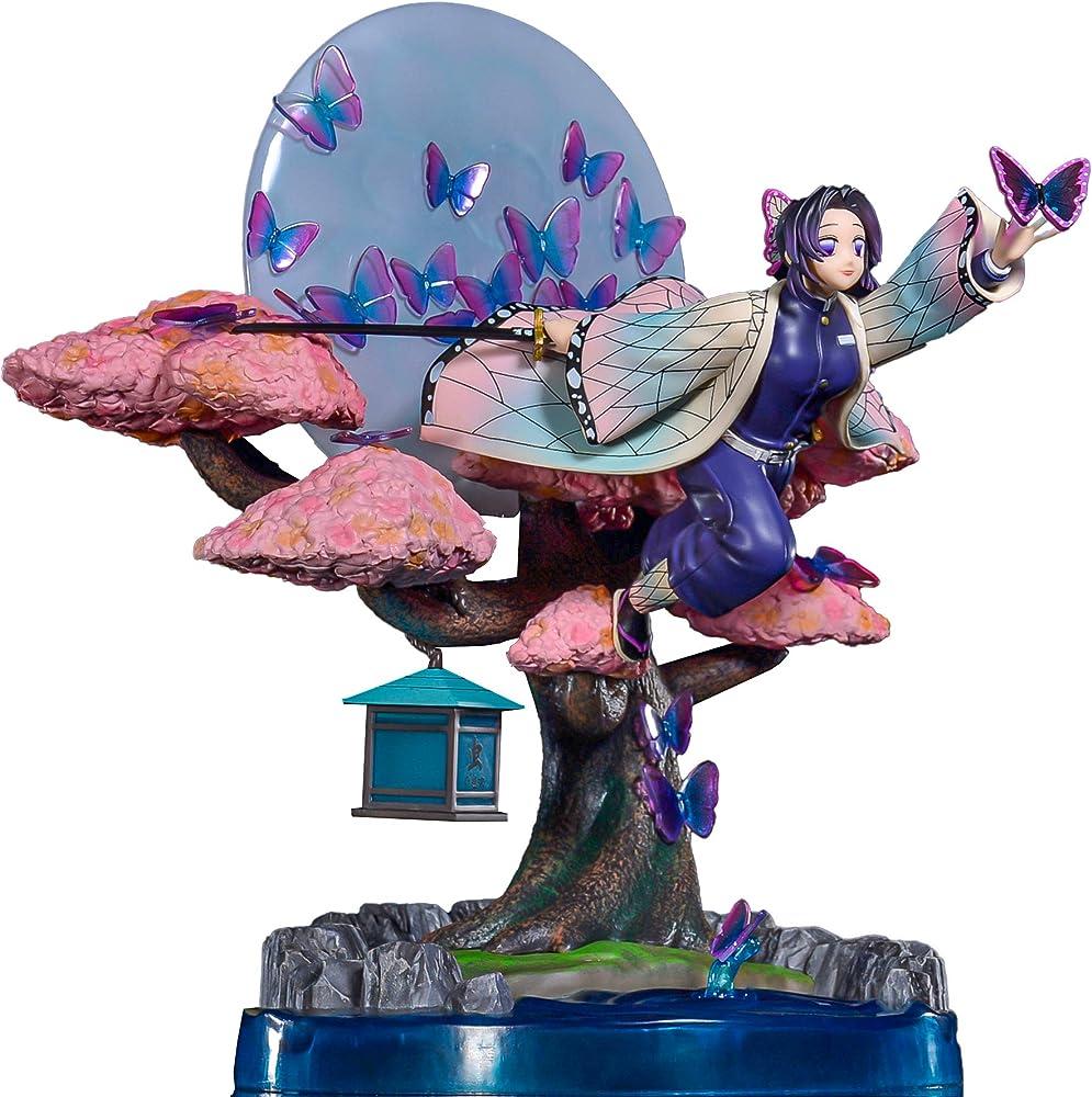 wuhuayu , personaggio di  demon slayer anime figure ,statua di kochou shinobu , 28 cm yukiyafgk039k05b