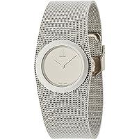 Calvin Klein Impulsive White Dial Steel Mesh Women's Watch