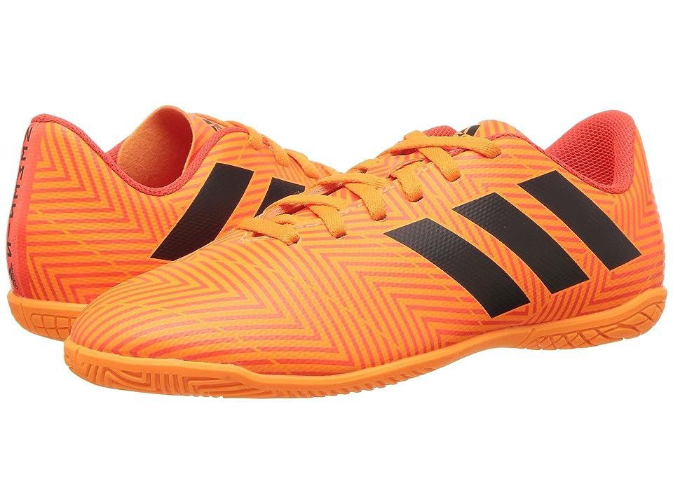 adidas Kids Nemeziz Tango 18.4 IN Soccer (Little Kid/Big Kid) (Zest/Black/Solar Red) Kids Shoes