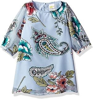 Baby Girls Long Sleeve Casual Woven Dress