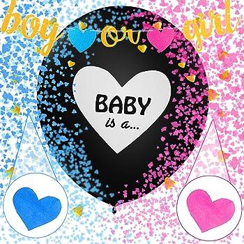 Sunshine smile Boy or Girl Party,Gender Reveal Kit,Baby Shower Balloon,Gender Reveal Party,Boy or Girl Banner,Baby Shower Party (2)