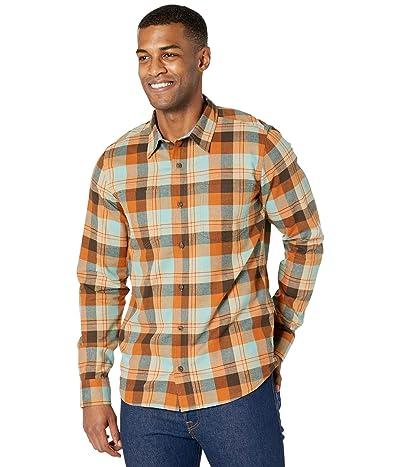 Toad&Co Flannagan Long Sleeve Shirt (Barn Wood) Men