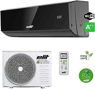 Split Climatizador · Aire Acondicionado 3000 Frigorias (Inverter) Negro INV-12RB WiFi · Mando a Distancia Incluido · Clase Energética A++ / A+ · R32