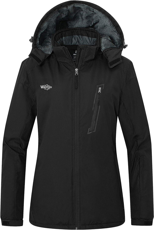 Inexpensive Wantdo Women's Mountain Credence Ski Jacket Waterproof Winter Snow O Coat
