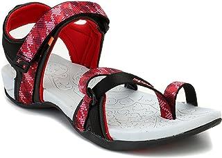 Sparx Women Ss0463l Red Black Safety Shoes-7 (SS0463LRDBK0007)