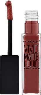 Maybelline New York Color Sensational Vivid Matte Liquid Lipstick, Coffee Buzz, 0.26 fl. oz.