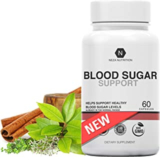 Blood Sugar Support Supplements: Natural Supplement Formula - Glucose Stabilizer with Cinnamon Cassia and Gymnema Sylvestr...