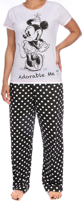Disney Pijama para mujer de Minnie Mouse