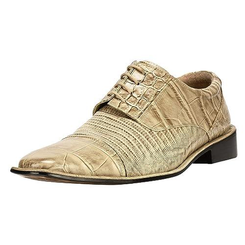 12e6888adc4 Men's Alligator Shoes: Amazon.com