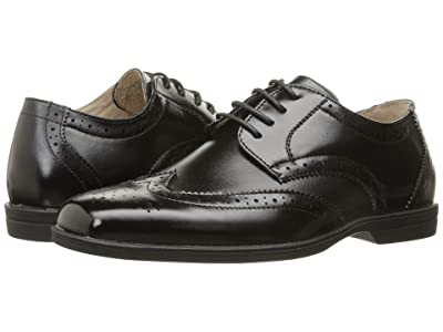 Florsheim Kids Reveal Wingtip Jr. (Toddler/Little Kid/Big Kid) (Black) Boys Shoes