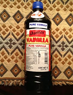 1 X Dark Danncy Pure Mexican Vanilla Extract From Mexico 33oz Each 1 Plastic Bottle Sealed