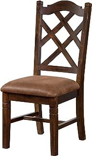 Sunny Designs Sedona Side Chair, Dark Chocolate