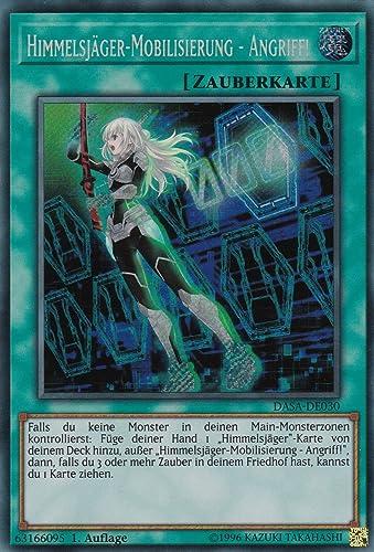 DASA-DE030 - Himmelsj r-Mobilisierung - Angriff - Secret Rare - Yu-Gi-Oh - Deutsch - 1. Auflage