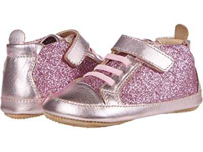 Old Soles Glam Gal (Infant/Toddler) (Glam Pink/Pink Frost) Girl