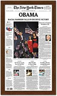 Poster Palooza Newspaper Frame - Made to Display Media Measuring 11x22 Inches