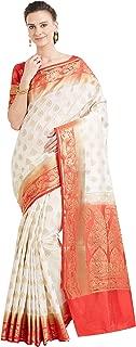 Sarees for Women's Banarasi Banarasi Art Silk Saree with Un-Stiched Blouse Piece,Free Size