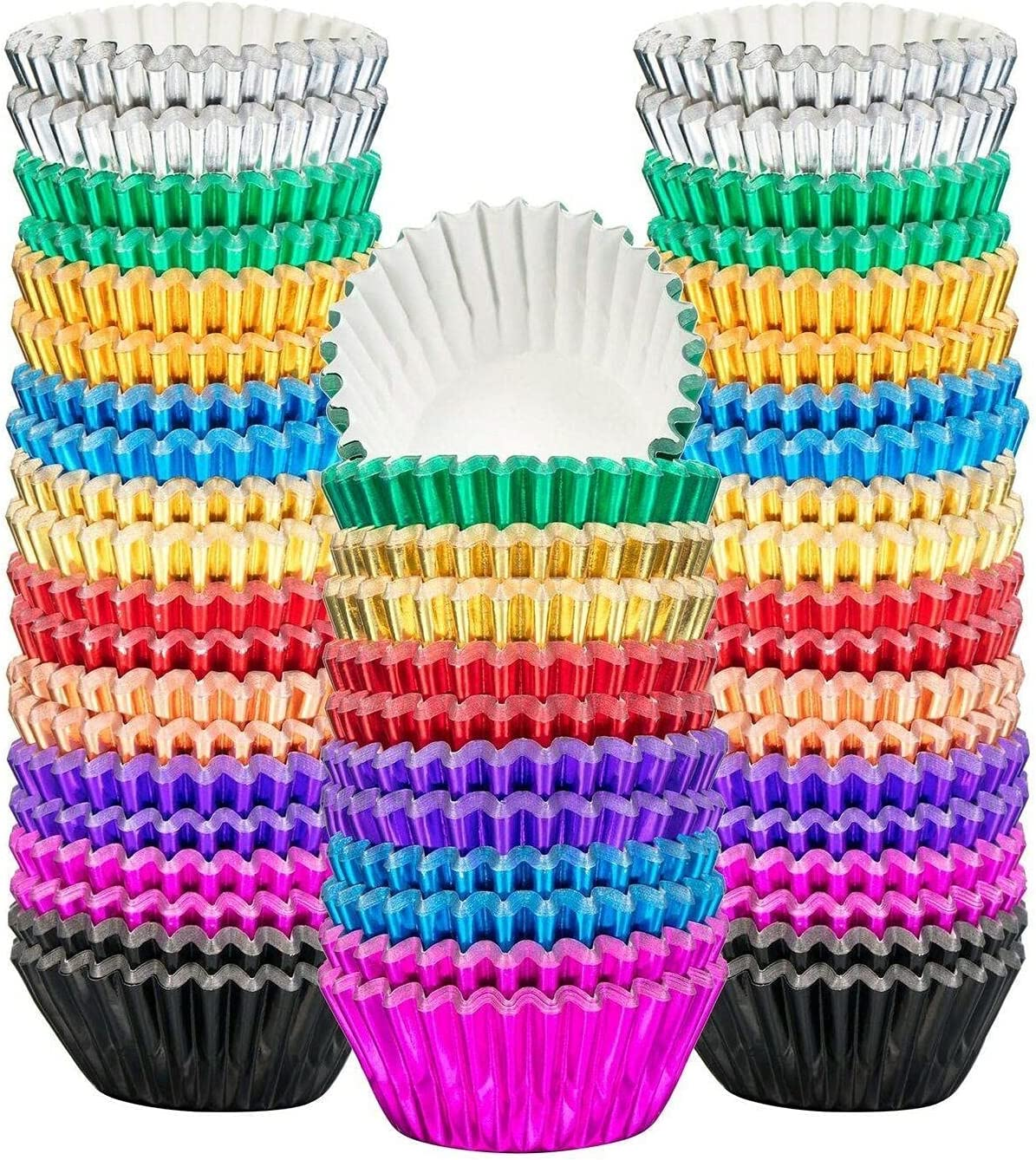 400 Wholesale Pieces Mini Cupcake Cup Cups Liners Baking Foil Cupca Popularity