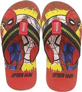 SPIDERMAN Boy's Red Flip-Flops - 5 Kids UK/India (22 EU)(SM1GBF799)