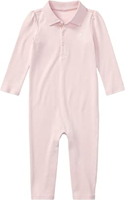 Ralph Lauren Baby Cotton Coverall (Infant)
