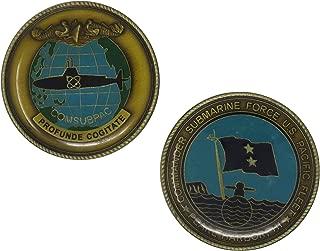 US Navy Commander Submarine Force US Pacific Fleet Challenge Coin