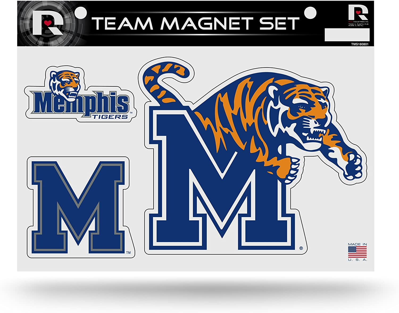 NCAA Memphis Tigers Die Cut Team Magnet Set Sheet : Sports & Outdoors