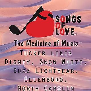 Tucker Likes Disney, Snow White, Buzz Lightyear, Ellenboro, North Carolina