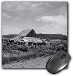 3dRose Mouse Pad an Old Farm Shed On Some Property On A Road Less Traveled in UT - 8 by 8-Inches (mp_309714_1)