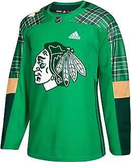 c670f3b3bc2 adidas Chicago Blackhawks NHL 2018 Mens St. Patrick's Day Authentic Practice  Jersey