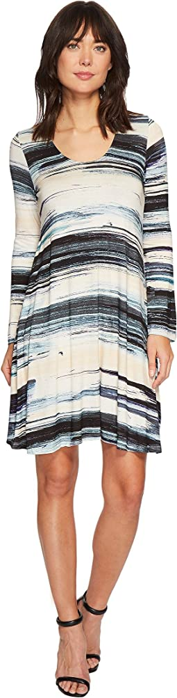 Karen Kane Brushstroke Taylor Dress