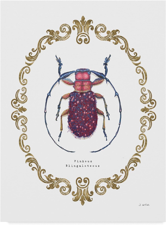 Trademark Fine Art WAP04400C1419GG James Wiens Adorning Coleoptera II, Multicolor