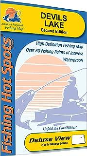Devils Lake Fishing Map